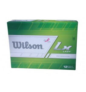 Wilson Duo Ladies LX 12 Golf Balls