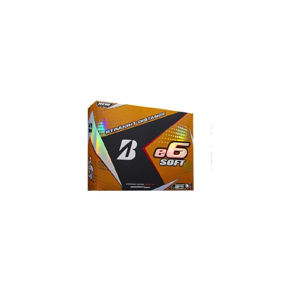 Bridgestone E6 Soft Golf Balls (Dozen)