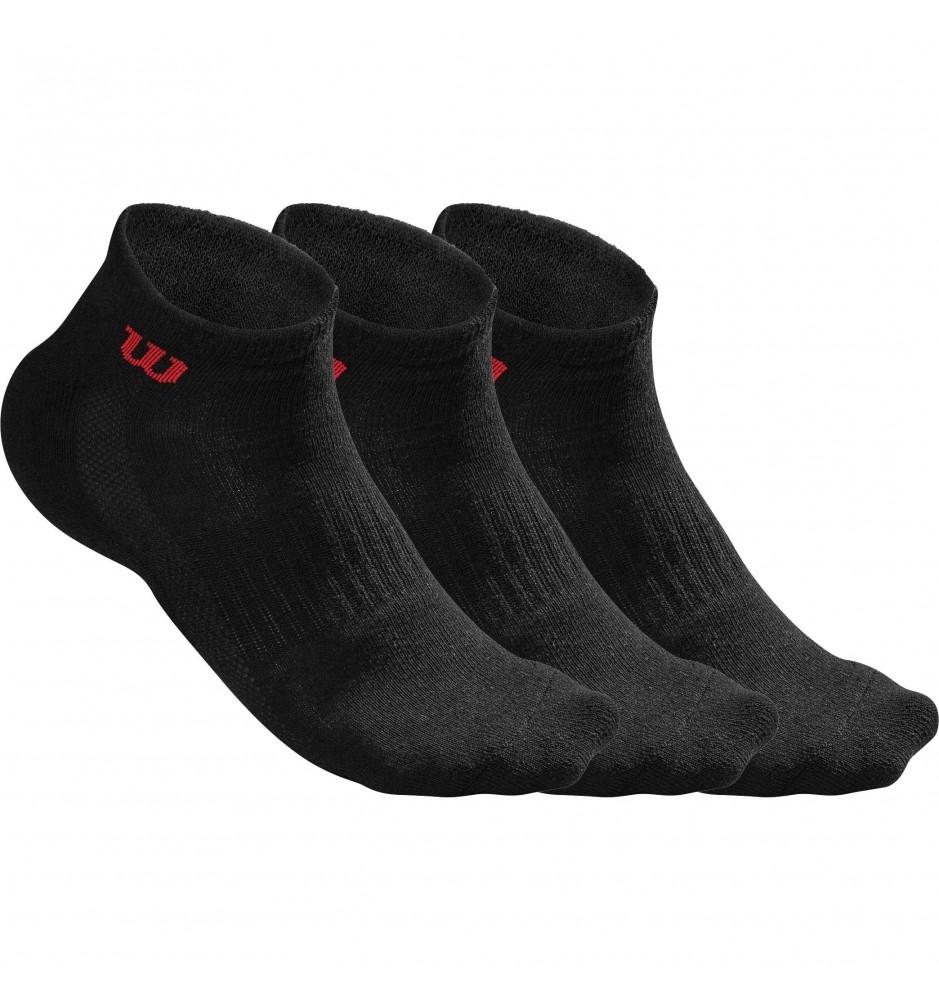 Wilson Mens Quarter Socks (3 Pack)