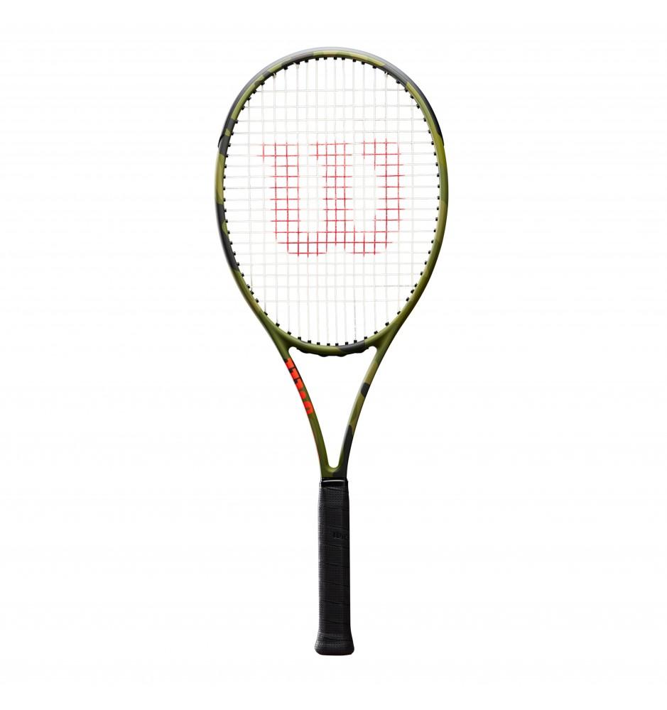 Wilson Blade 98L Camo Green Racket