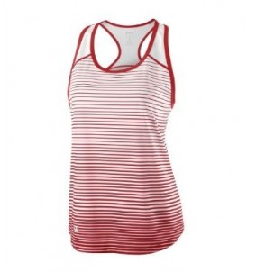 Wilson Ladies Team Striped Tank Top