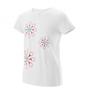 Wilson Girls Floret Tech Tee