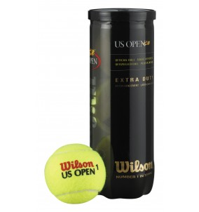 Wilson US Open Tennis Balls 3 ball Can