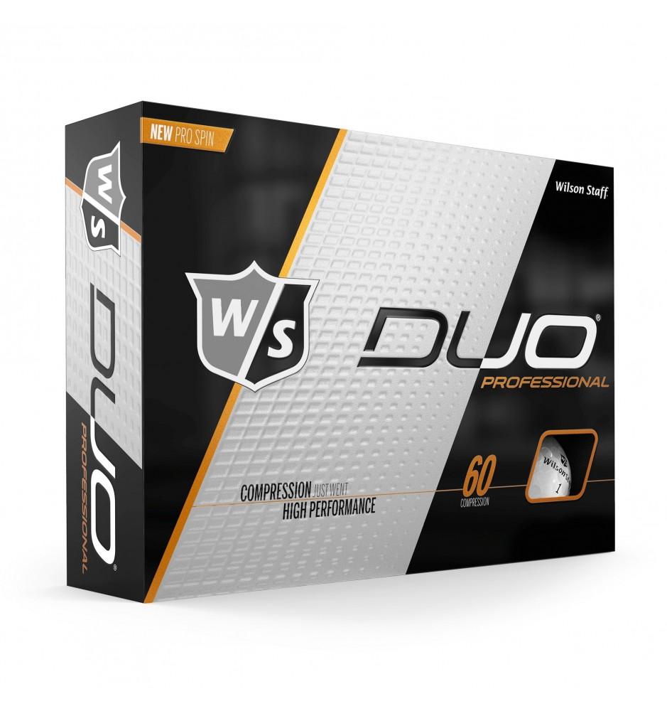 OriginalBrands - Wilson Staff Duo Professional Golf Ball