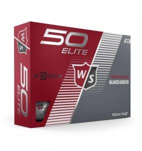 Wilson Staff Fifty Elite Dozen Gold Balls