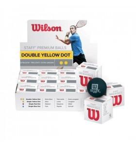 Wilson Ultra double yellow dot squash ball