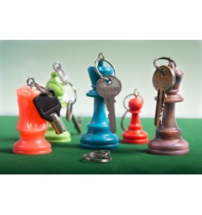 Chess Key Rings Rooks