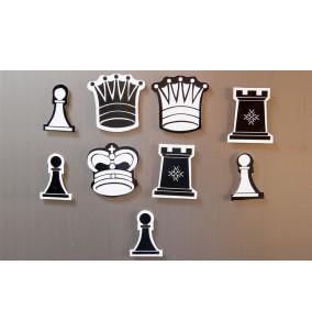 Chess Replacement Magnetic Chess Pieces