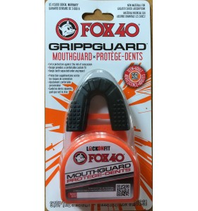 FOX40 GripGuard Mouthguard with Lock-In Case