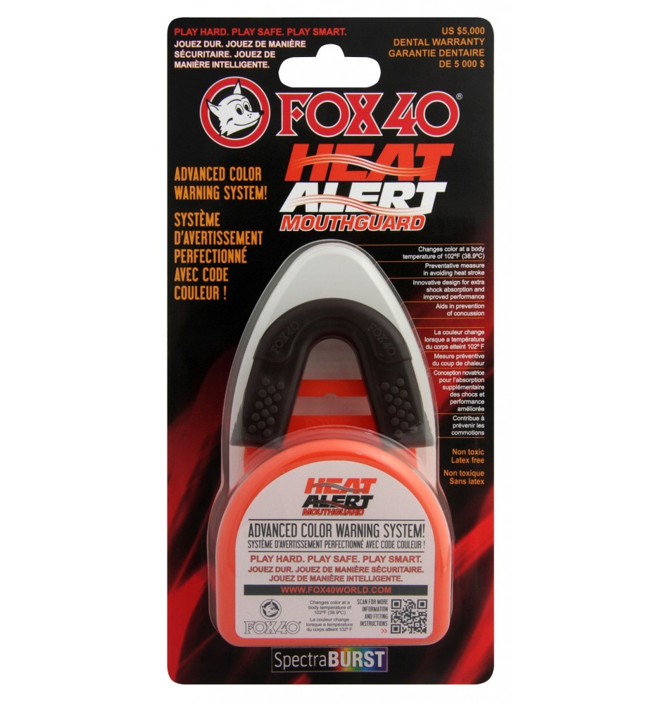 FOX40 Heat Alert Mouth Guard and Lock-In Case